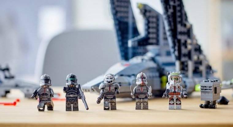 Star Wars: The Bad Batch készletet mutatott be a LEGO